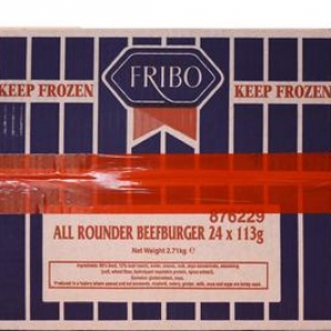 4oz Fribo All Rounder 80% Burger