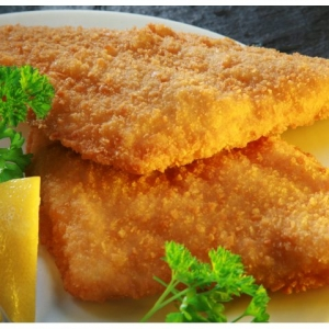 8/10oz Breaded Plaice
