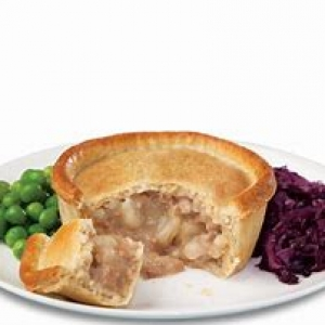 Holland's Potato and Meat Pie